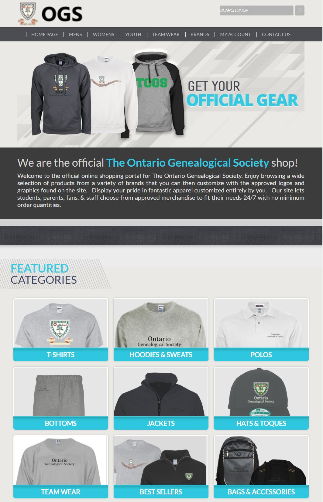 OGS Clothing & Accessories