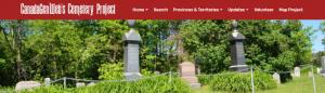 CanadaGenWeb's Cemetery Project