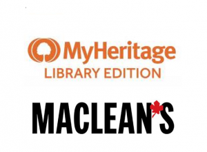 MyHeritage and Macleans