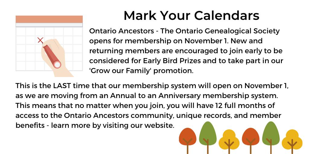 OGS-Mark Your Calendars